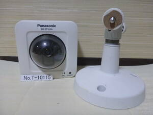 control number T-10115 /Panasonic/ box type network camera / indoor for / accessory great number / Yupack 80 size / electrification only . verification / junk treatment