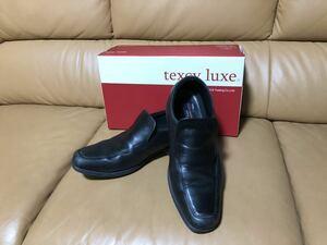 texcy luxe テクシーリュクス アシックス商事 ビジネスシューズ メンズ 紳士靴 TU-7770 7768 7771 7772 7774 レザー 本革 牛革 ブラック