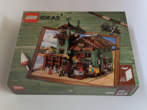 【未開封】LEGO レゴ 21310 アイデア 釣具屋