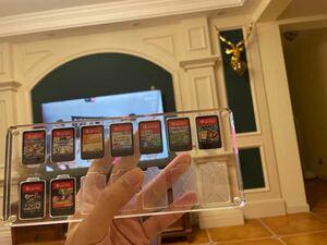 switchソフトディスプレイケース 14点収納 高透明のアクリル材質 TikTokでバズった商品 飾り ゲーム好きな方に向け