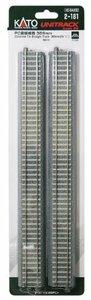 KATO HOゲージ PC直線線路 369mm 4本入 2-181 鉄道模型用品