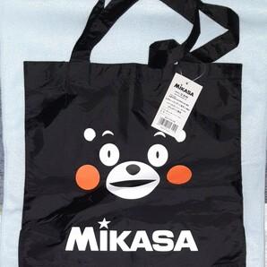 ミカサ レジャーバッグ くまモン エコバッグ黒 MIKASA (新品,未使用 送料込み)