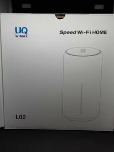 UQ WiMAX SPEED Wi-FI HOME L02 美品