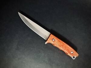 ナイフ シースナイフ #032 アウトドア キャンプ ペティナイフ