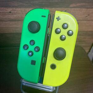 Nintendo Switch ジョイコン L R ネオングリーン ネオンイエロー