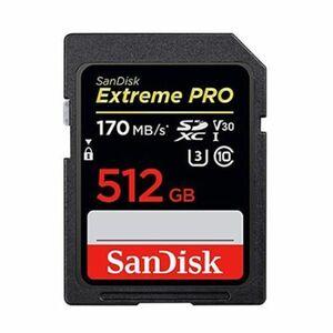 新品 SanDisk SpeedClass10 SDXCカード 512GB 170MB/s 送料290〜