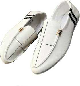 メンズ シューズ 夏 スリッポン ローファー 革靴 カジュアル靴 モカシン 軽量 職場用 個性 紳士靴
