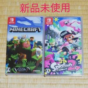スプラトゥーン2&マインクラフト Nintendo Switch