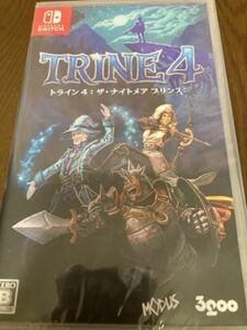 新品 未開封 ニンテンドースイッチ ソフト TRINE4 トライン4 ザ ナイトメア プリンス Nintendo Switch