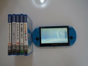 PlayStation Vita PCH-2000 + ゲームソフト5個