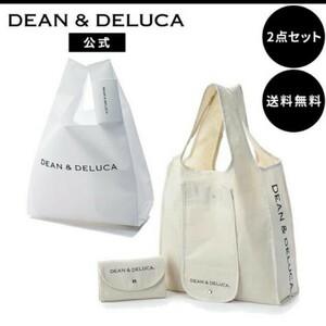 DEAN & DELUCA ショッピングバッグ & ミニマムエコバッグ 【2点セット】