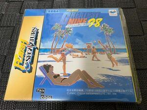 SS体験版ソフト GRATESTNINETM'98 非売品 SEGA Saturn DEMO DISC フラッシュセガサターンvol.31 FLASH 体験版+映像集