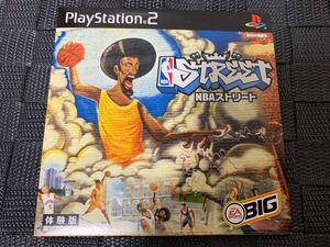 PS2体験版ソフト NBAストリート 非売品 Electronic Arts PlayStation DEMO DISC NBA Street basketball SLPM60152 エレクトリック アーツ