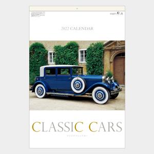 2022年壁掛けカレンダー SB227 ワイドクラシックカー フィルム