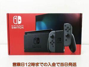 未使用品 任天堂 新モデル Nintendo Switch 本体 セット グレー ニンテンドースイッチ 新型 店舗印なし EC21-213jy/F4