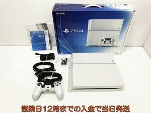 【1円】PS4 グレイシャー・ホワイト 500GB (CUH1100AB02) ゲーム機本体 初期化動作確認済み 1A0771-4442e/F4