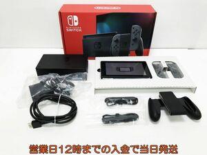 【1円】新型 Nintendo Switch (ニンテンドースイッチ) Joy-Con(L)/(R) グレー ゲーム機本体 初期化動作確認済み 1A2000-450e/F4