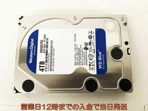 3.5インチ HDD WD Blue 4TB 正常/電源投入98/使用時間104 EC21-243jy/F3