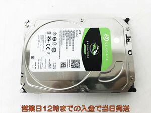 3.5インチ HDD SEAGATE BARRACUDA 4TB 正常/電源投入658/使用時間965 EC21-239jy/F3