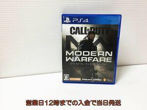 PS4 コール オブ デューティ モダン・ウォーフェア ゲームソフト 状態良好 1A0606-227ey/F8