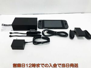 【1円】Nintendo Switch (ニンテンドースイッチ) Joy-Con(L)/(R) グレー ゲーム機本体 初期化動作確認済み 1A1000-733e/F4