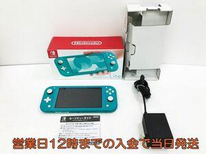 【1円】Nintendo Switch Lite ターコイズ スイッチ 本体 初期化・動作確認済み 任天堂/Nintendo 1A0746-0216yy/F3