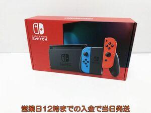 新品 新型Nintendo Switch (スイッチ) Joy-Con(L) ネオンブルー/(R) ネオンレッド ゲーム機本体 未使用品 1A3000-149e/F4
