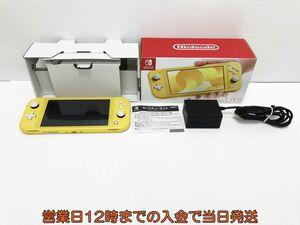 【1円】Nintendo Switch Lite イエロー ゲーム機本体 初期化動作確認済み 1A0771-4524e/F3