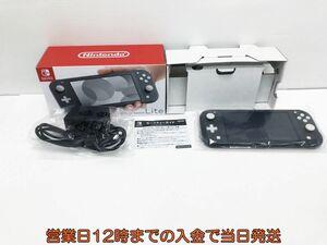 【1円】Nintendo Switch Lite グレー ゲーム機本体 初期化動作確認済み 1A0771-4525e/F3