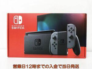 新品 任天堂 新モデル Nintendo Switch 本体 セット グレー ニンテンドースイッチ 未使用 新型 店舗印なし EC22-572jy/F4