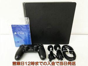 【1円】PS4 本体 セット 500GB ブラック SONY PlayStation4 CUH-2200A 動作確認済 コントローラー DC08-562jy/F4