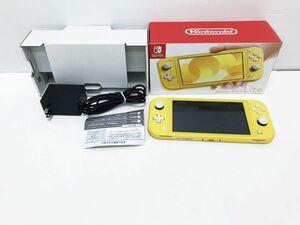 【1円】Nintendo Switch Lite イエロー ゲーム機本体 初期化動作確認済み 1A1000-775e/F3