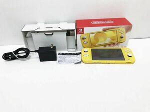【1円】Nintendo Switch Lite イエロー ゲーム機本体 初期化動作確認済み 1A1000-777e/F3