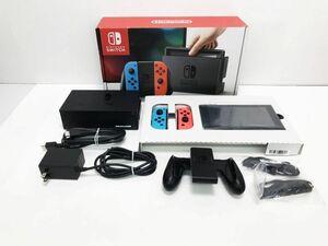 【1円】Nintendo Switch Joy-Con(L) ネオンブルー/(R) ネオンレッド ゲーム機本体 初期化動作確認済み 1A3000-174e/F4