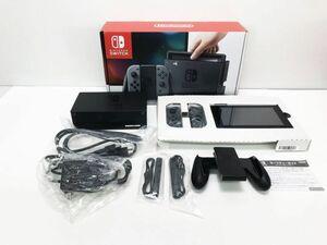 【1円】Nintendo Switch (ニンテンドースイッチ) Joy-Con(L)/(R) グレー ゲーム機本体 初期化動作確認済み 1A3000-171e/F4