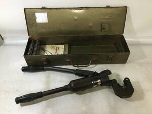 【中古品】★LOBSTER 手動式油圧圧着工具 AKH-150