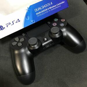 PS4純正コントローラー DUALSHOCK4 ジェット・ブラック
