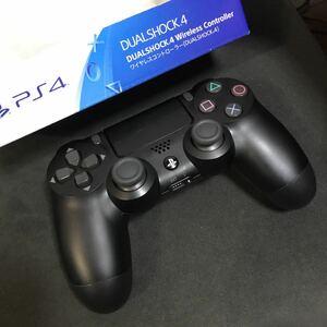 PS4純正コントローラー ジェットブラック