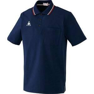 ★★新品!【大きいサイズ】 le coq sportif (ルコックスポルティフ) 半袖ポロシャツ (4L)ネイビー★★
