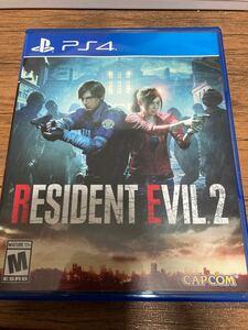 バイオハザードRe2 北米版 PS4 BIOHAZARD RESIDENT EVIL Re:2 輸入版