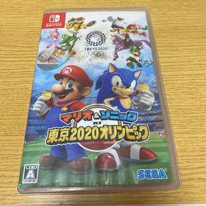 マリオ &ソニック 東京2020オリンピックSwitch ニンテンドースイッチ Nintendo Switch スイッチソフト