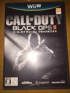 即決WiiUコールオブデューティブラックオプス2 BLACK OPS II送料無料