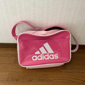 adidas エナメルバッグ スポーツバッグ