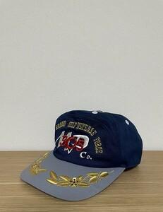 【激安1点のみ】Japan Ground Self Defense Force JGSDF 陸上自衛隊 刺繍 キャップ 帽子 L ネイビー×グレー系 USED