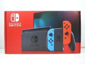 ♪任天堂 Nintendo Switch ニンテンドースイッチ 本体 HAD-S-KABAA(JPN) ネオンブルー・ネオンレッド♪中古美品