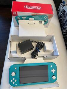 Nintendo Switchライト ターコイズ