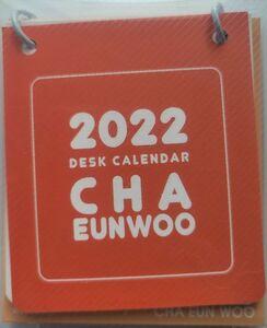 韓国 K-POP☆ASTRO アストロ チャ・ウヌ チャウヌ☆2022年カレンダー ミニ卓上カレンダー 卓上カレンダー フォト デスク カレンダー