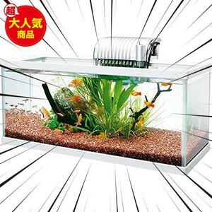 テトラ (Tetra) ホワイトアクアリウム スリム&ロー 520 水槽 熱帯魚 メダカ 金魚