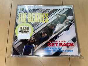 THE BEATLES DEFINITIVE GET BACK (With Let It Be & 16 Other Songs) プレス盤 CD 4枚組 新品未開封 ビートルズ