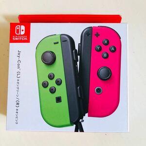 【新品未使用未開封】Nintendo Switch ジョイコン Joy-Con ネオンピンク ネオングリーン 送料無料